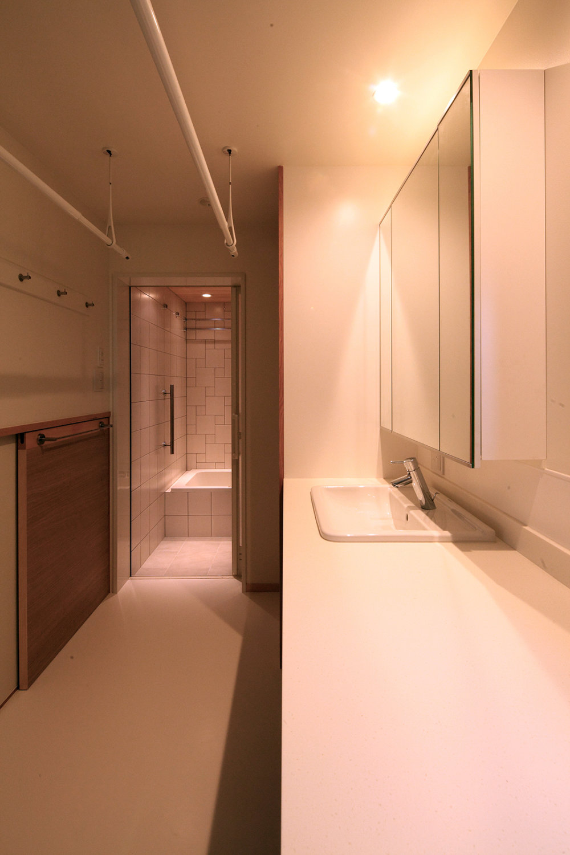 MIA 松ヶ崎の家Ⅱ 洗面所