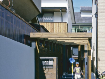 MIA 松ヶ崎の家Ⅱ アプローチ